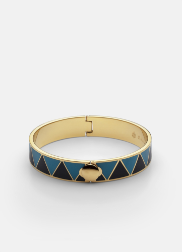 GTG Enamel Bracelet - Blue & Dark Blue