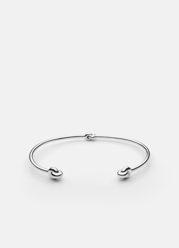 Knot Cuff - Polished Steel