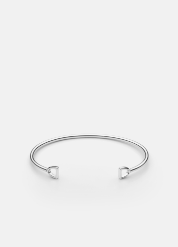 GTG Stirrup Cuff - Polished Steel