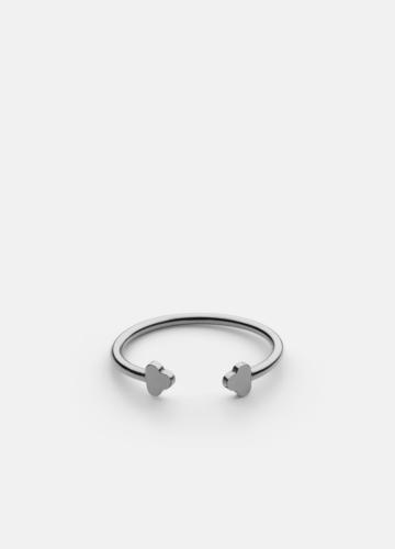Open Key Ring - Polished Steel