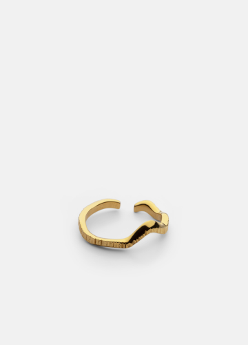 Chêne Raw Ring - Gold