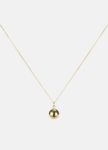 The Ball Necklace - Gold Plated