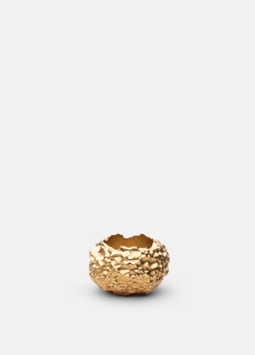 Opaque Objects Tealight Large - Gold