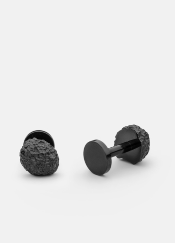 Cuff Links - Opaque Objects - Titanium Black
