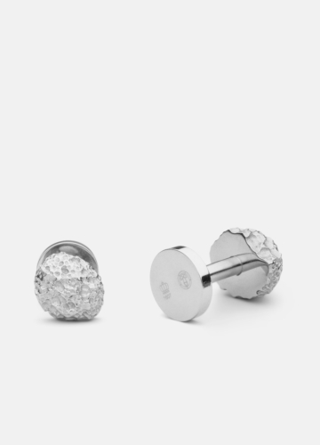 Cuff Links - Opaque Objects - Matte Steel