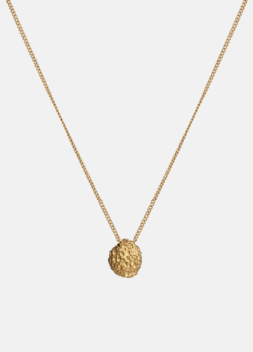 Necklace - Opaque Objects - Matte Gold