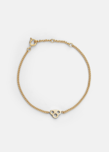 Key Chain Bracelet - Gold Plated