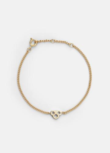 Key Chain Bracelet - Gold Plated