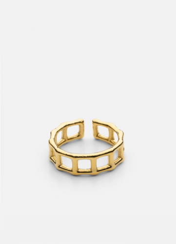 Bambou Trail Ring - Gold Plated