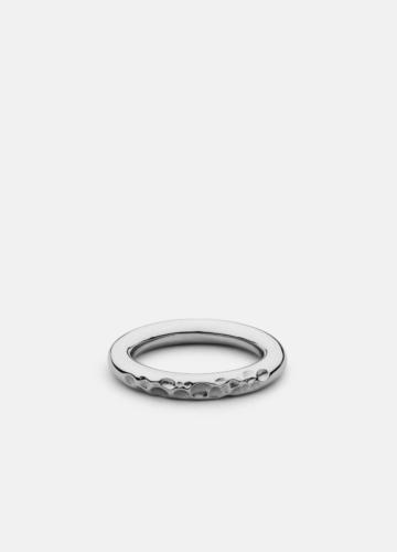 Juneau Petit Ring - Polished Steel