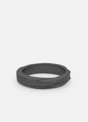 Ring - Opaque Objects - Titanium Black