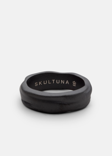 Ring Thick - Opaque Objects - Titanium Black