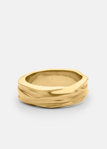 Ring Thick - Opaque Objects - Matte Gold