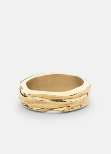 Ring Thick - Opaque Objects - Gold
