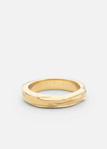 Ring - Opaque Objects - Matte Gold