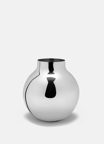 Boule Vase Silver - Large