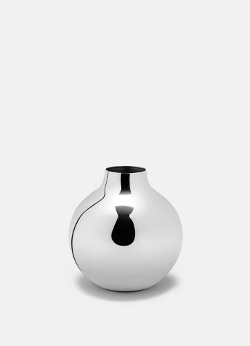 Boule Vase Silver - Mini