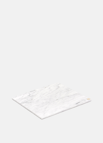 Carrara Marble Plate - Large