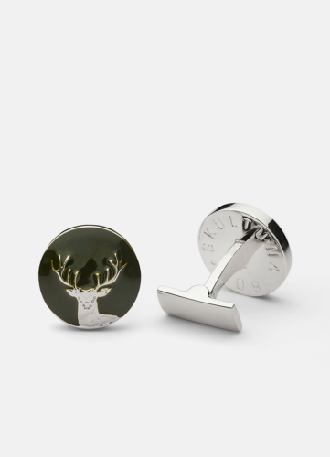 The Hunter Silver & Green - The Deer