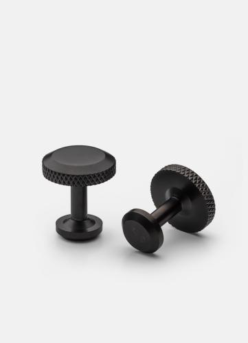 Icon Cuff Link Model 8 - Titanium Black