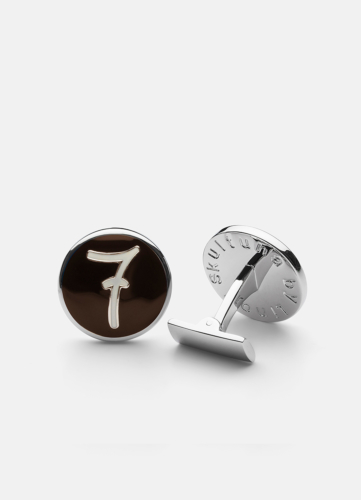 Cuff Links 7 - Brown