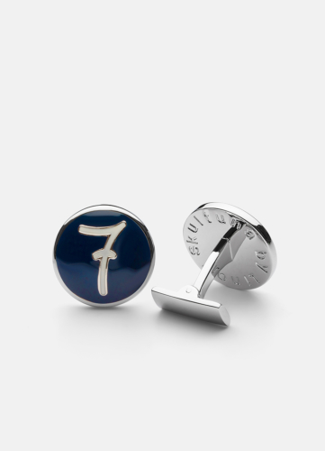 Cuff Links 7 - Blue