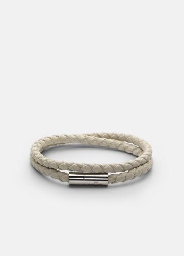 Suede Bracelet - White