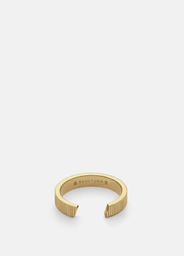 Ribbed Ring - Gold