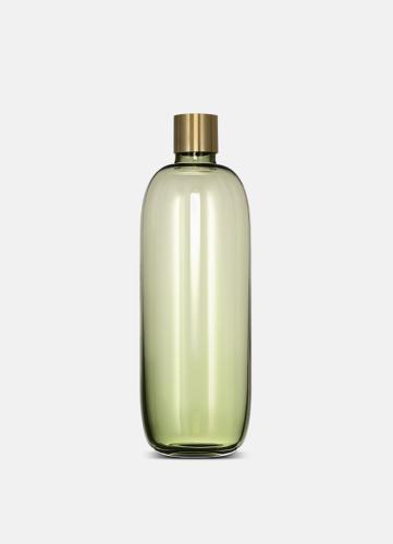 Damejeanne Vase - Large Green