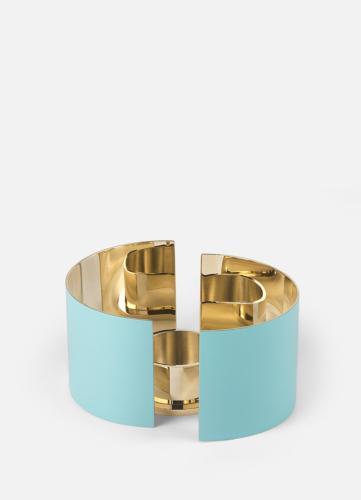 Infinity Ljushållare - Liten Azure