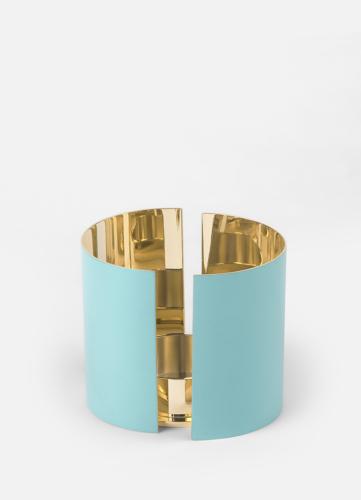 Infinity Candleholder - Large Azure