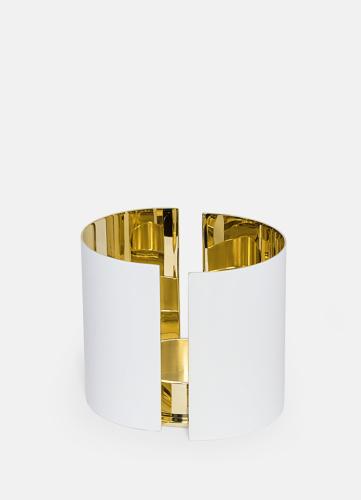 Infinity Candleholder - Large White