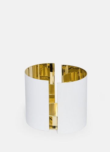 Infinity Ljushållare - Stor Vit