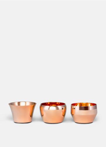 Kin Polished Copper - Set of 3