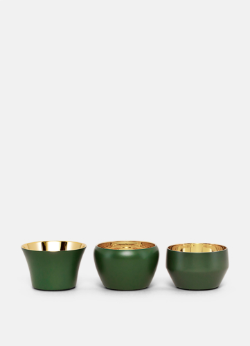 Kin Dark Green - Set of 3