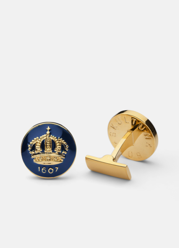 The Skultuna Crown Gold - Blue