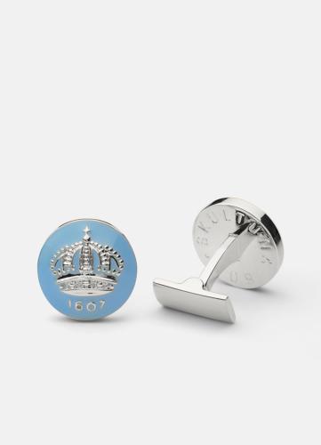 The Skultuna Crown Silver - Light Blue