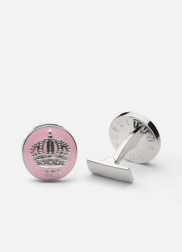 The Skultuna Crown Silver - Pink