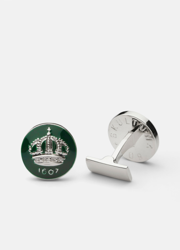 The Skultuna Crown Silver - Racing Green