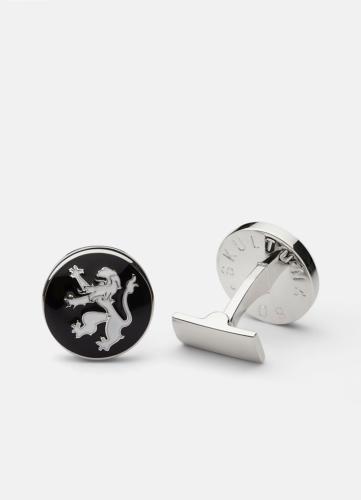 The Rampant Lion Silver - Black & White