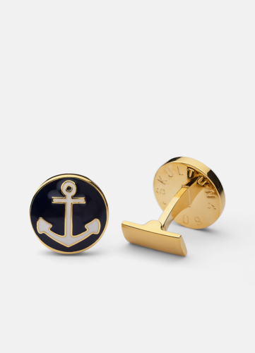 The Anchor Gold - Blue & White
