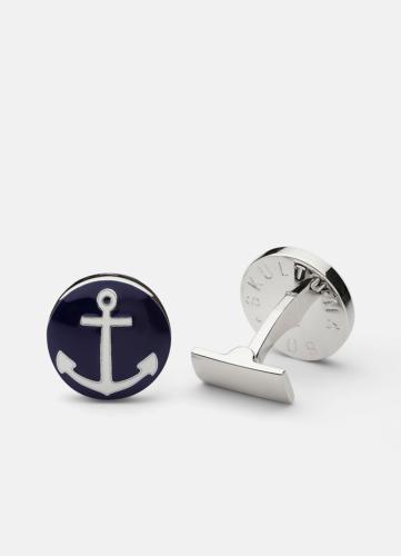 The Anchor Silver - Blue & White