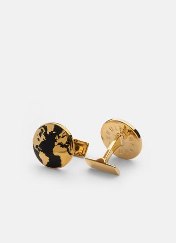 The World Cuff Gold - Black