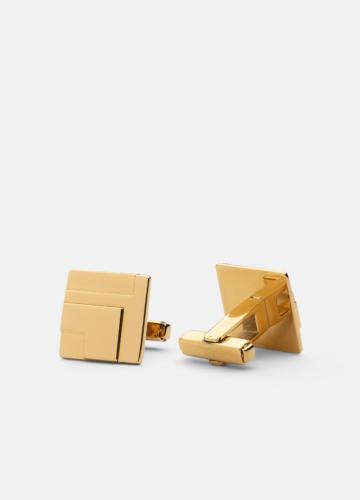 Folkform Cuff links - Gold
