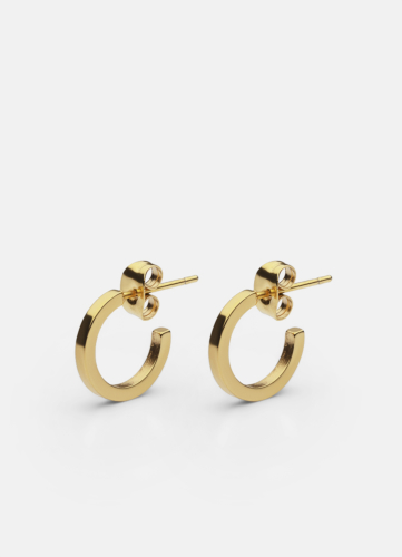 SB Earring Medium - Gold Plated