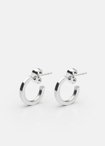 SB Earring Small - Polished Steel