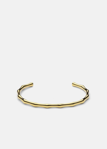 Bambou Bangle - Gold Plated