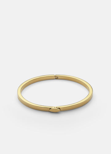 Eternal Bangle Thin - Gold Plated