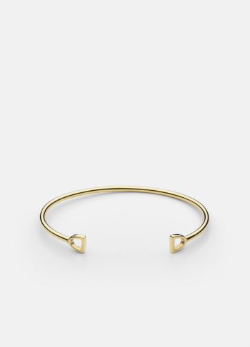 GTG Stirrup Cuff - Gold Plated