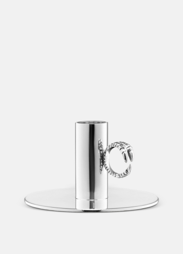 Claw Ring Candlestick Silver